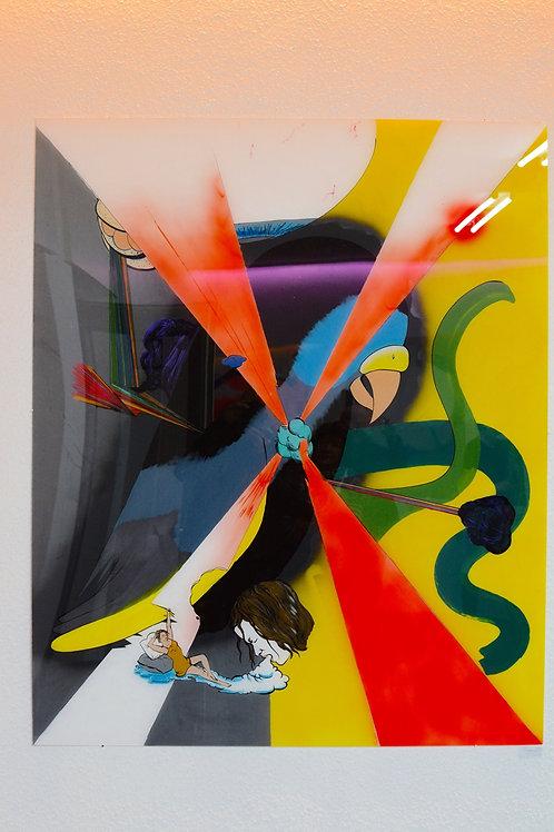 """Original Work """"Sittich"""" Katharina Gschwendtner"""