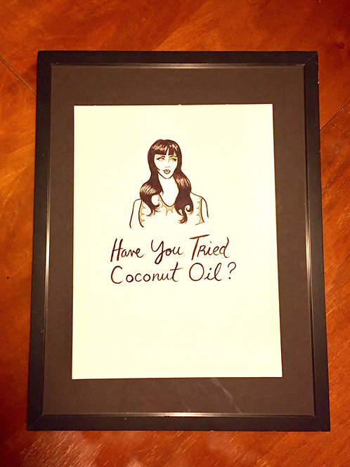 "Arabella Proffer "" Have You Tried Coconut Oil?"""