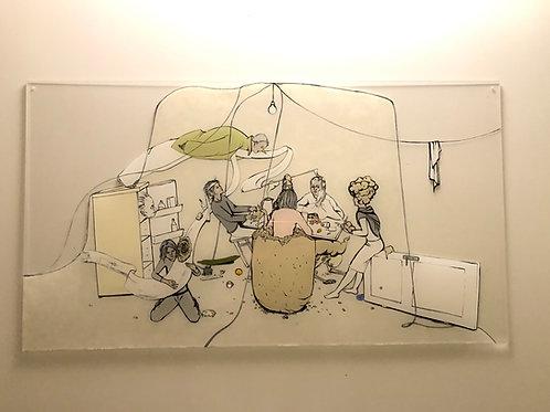 """Original Work """"WG Küche"""" by Katharina Gschwendtner"""