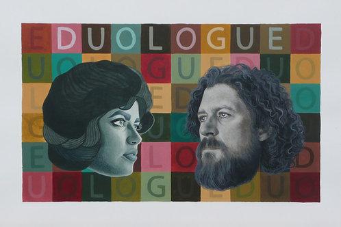 """Original Work """"Duologue II"""" Pamela Tait & Erlend Tait"""