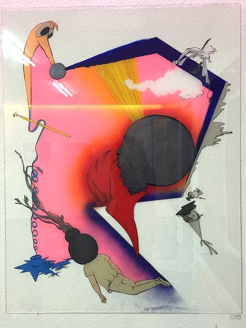 "Original Work ""Kernspaltung"" Katharina Gschwendtner"