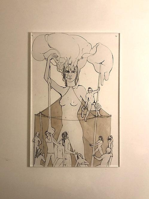 """Original Work """"Zeltfrau"""" by Katharina Gschwendtner"""