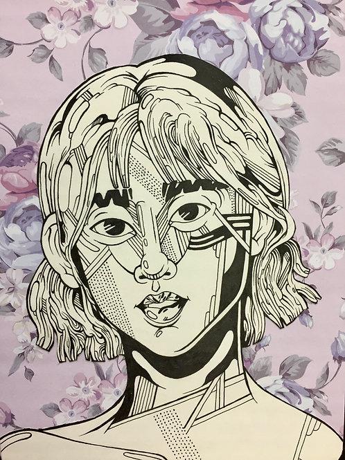 "Original Work ""GIRL4"" by Philipp Wiebesiek"