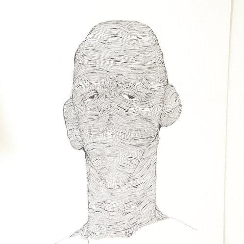 "Original Drawing ""PERFECT"" by Philipp Wiebesiek"