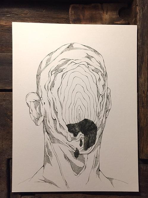 "Original Drawing ""No Title"" by Philipp Wiebesiek"