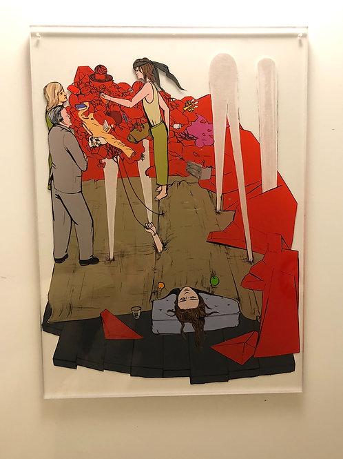 """Original Work """"Künstlerin"""" by Katharina Gschwendtner"""