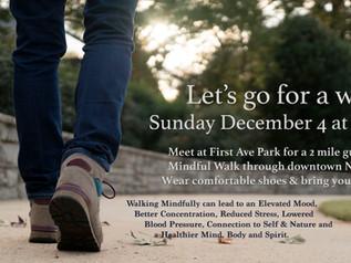 Meditative walk