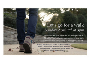 Join Us for a Meditative walk