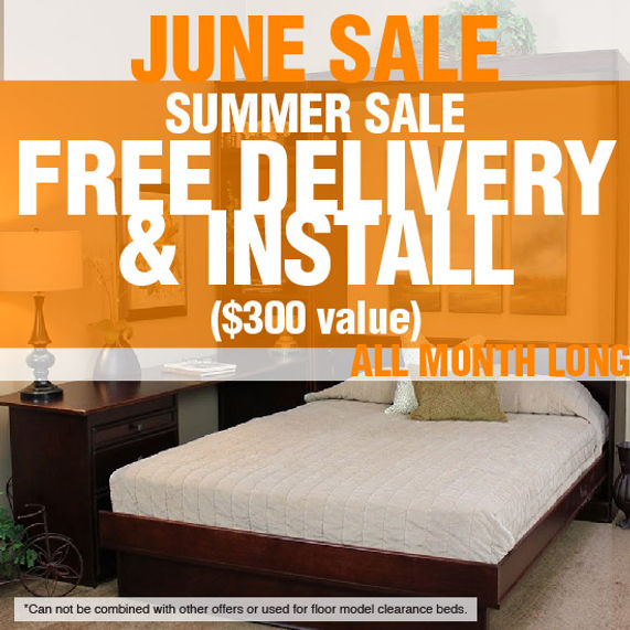 Summer Sale - Free Delivery & Install wi