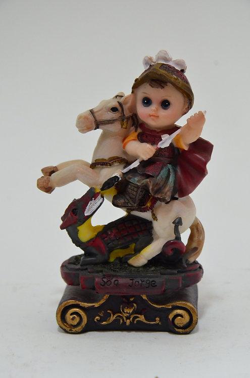 Imagem infantil - São Jorge - 13 cm