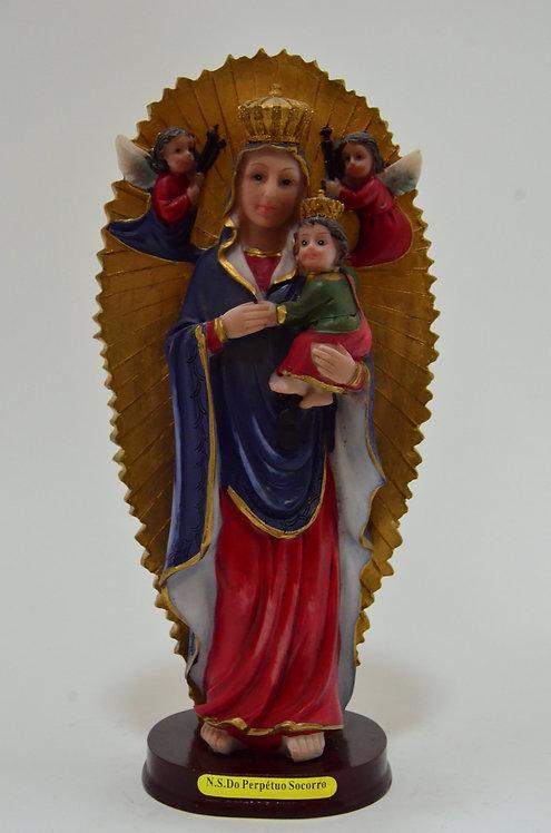 N. Sra do perpétuo socorro - 20 cm - 8 cm