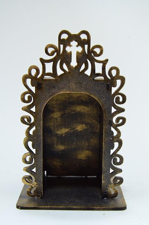 Capelinha de madeira -