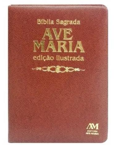 Bíblia Ave-Maria - Ed Ilustrada luxo