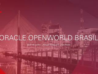 Está chegando! Oracle OpenWorld Brasil 2018