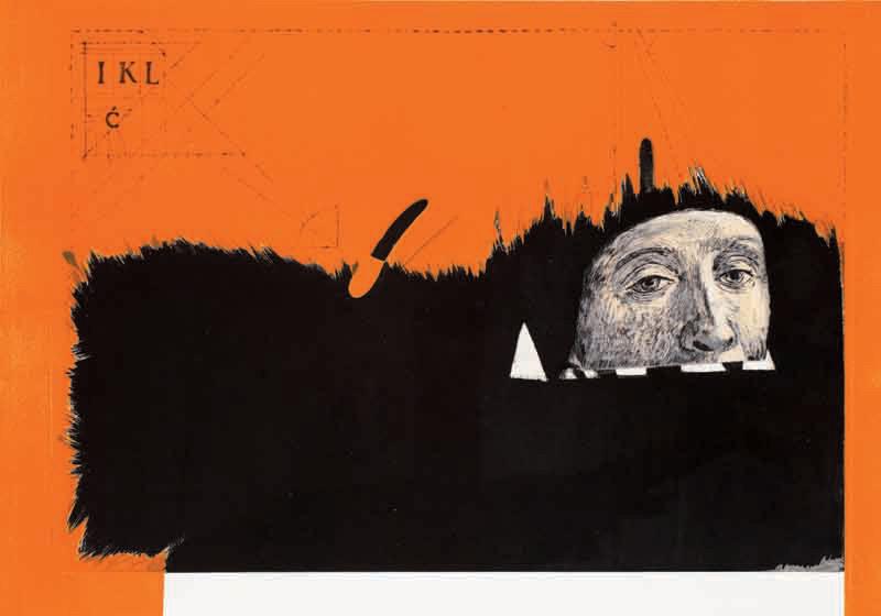 intaglio relief by Agnieszka Cieslinska, in Celebrating Print Magazine
