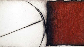 Rotterova's Printmaking Quietly Intense, Solid Yet Trembling Lines
