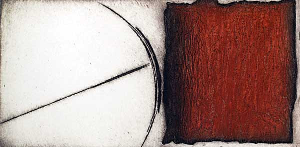 "Romana Rotterova, ""Relationships I"", 1968, intaglio"