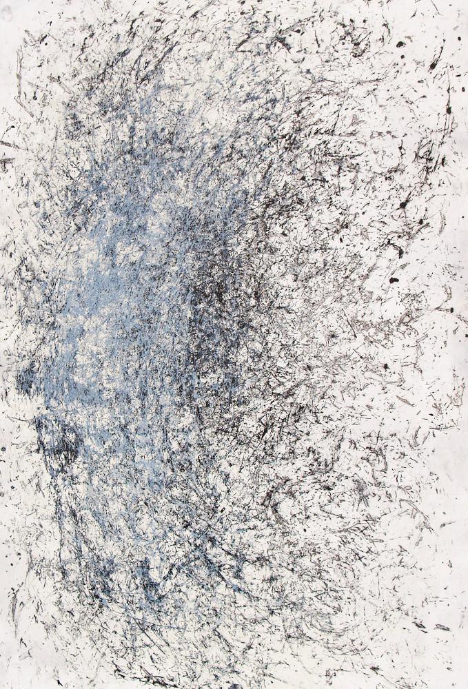 Ana Vivoda's Traces, 2011, lift-ground etching, drypoint