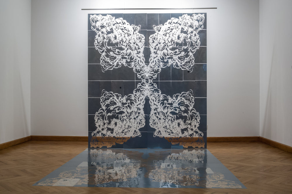 Mario Causic, Place, 2007, woodcut