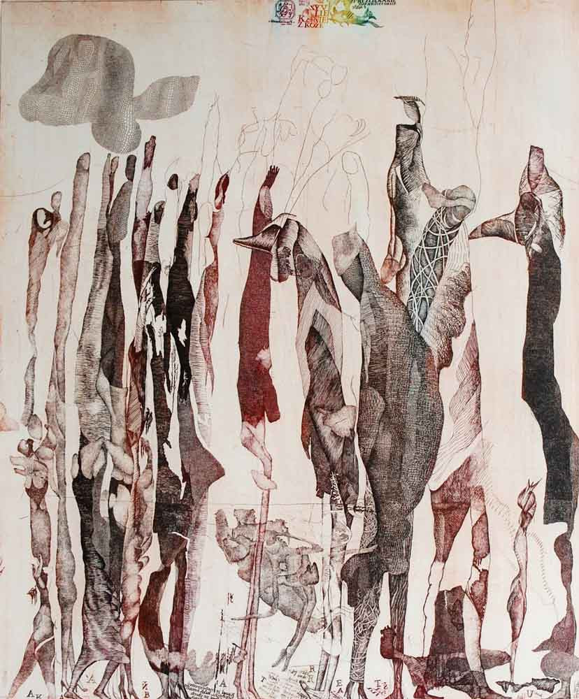 Kamila Stanclova's print in the collection of Mead Art Museum, MA