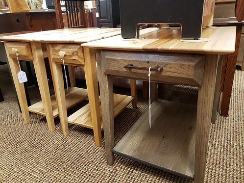 "Rustic Hickory ""Simplicity"" End Table Set (Natural)"