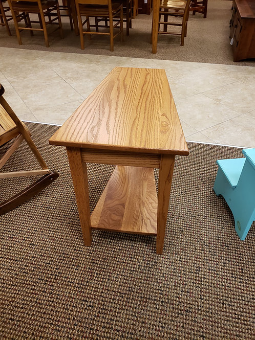 Oak Shaker Wedge End Table (103MX)