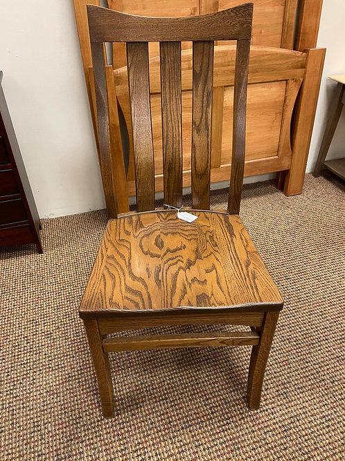 """Oak """"Malichi"""" Side Chair (Cappuccino)"""