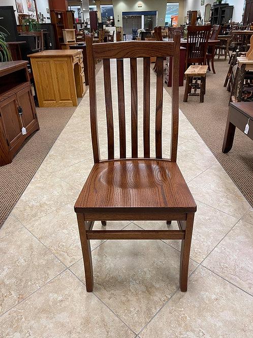 """Oak """"78 Mission"""" Side Chair (Boston)"""