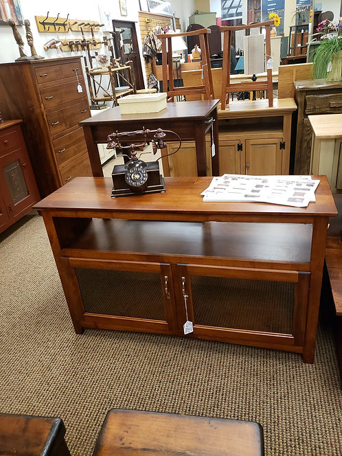 """Brown Maple 50""""W """"Linwood"""" TV Stand (Michael's Cherry)"""