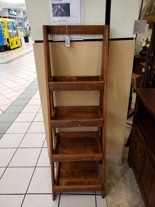 Rustic Pine Storage Ladder Shelf (Michael's)