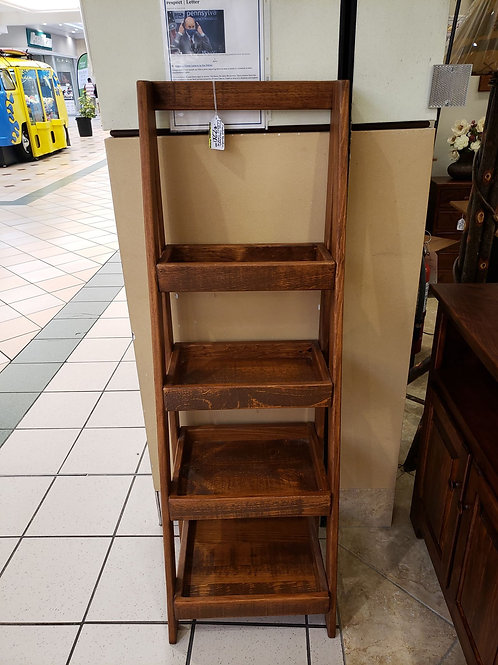 Rustic Pine Storage Ladder Shelf (Michael's)