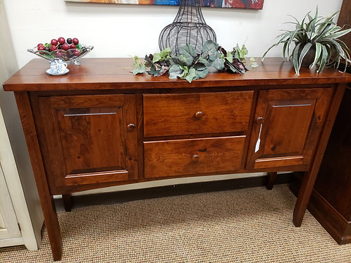 Rustic Cherry Shaker Sideboard with Drawers and Doors (Michael's)