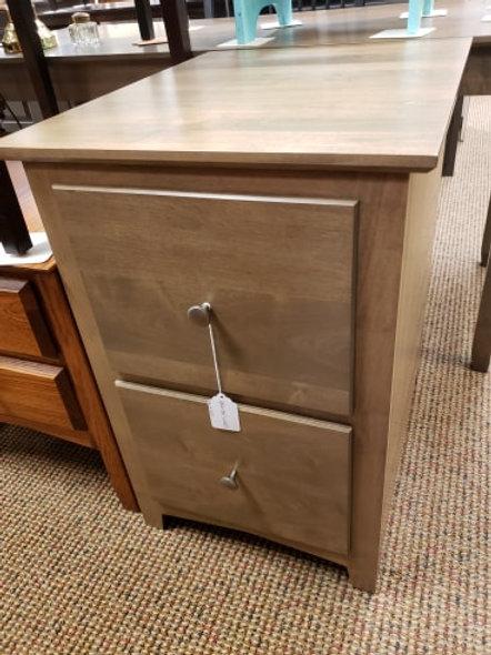 """Brown Maple 2 Drawer """"Linwood"""" File Cabinet (Husk)"""