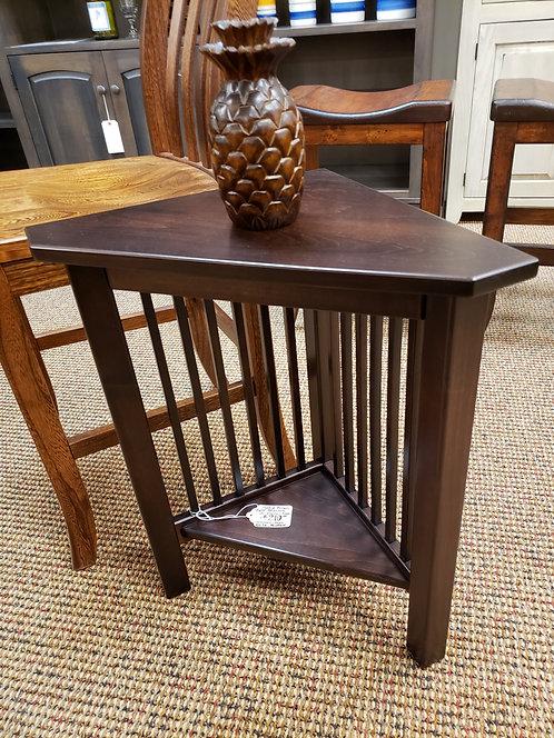 Brown Maple Mission Junior Corner Table (Onyx)