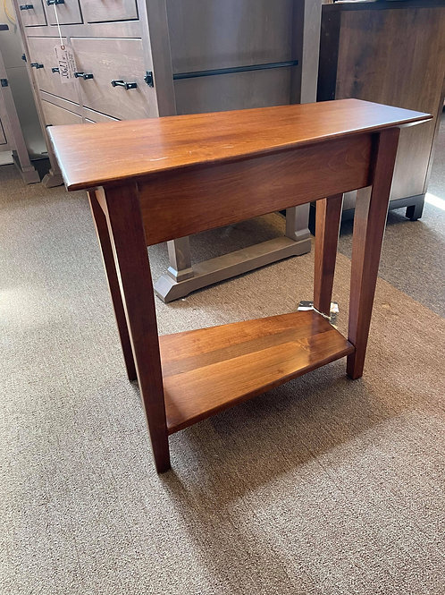 "Brown Maple ""Simplicity"" Wedge End Table (Michael's)"