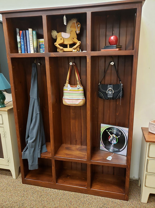 Pine Cubbie Locker (Cherry) (LAST ONE)