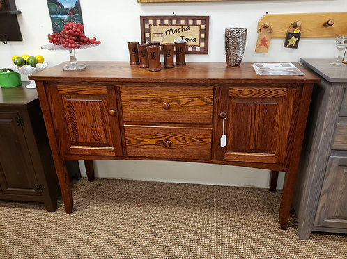Oak Shaker Sideboard with Drawers and Doors (Michael's)
