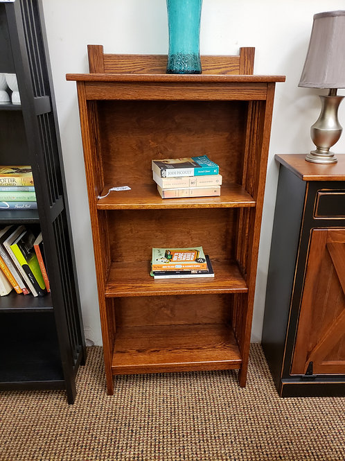 Oak 2' Mission Bookcase with Back (Michael's)