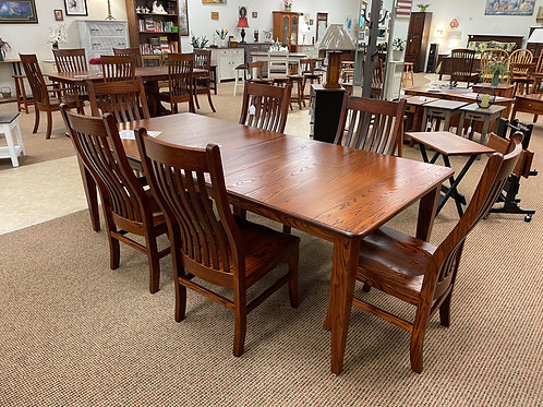 Oak Extension Table and Chair Set (Michael's)