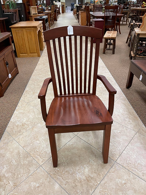 "Cherry ""Empire"" Arm Chair (Michael's)"