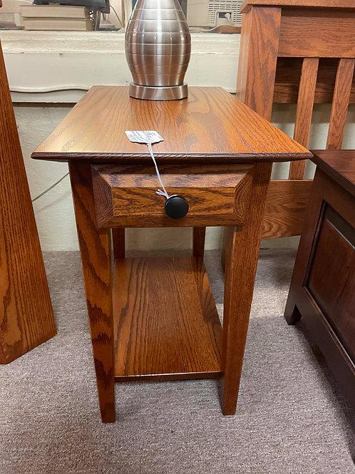 "Set of 2 Oak ""Simplicity"" Chair Side Tables (Michael's)"