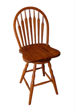 7 spindle barstool