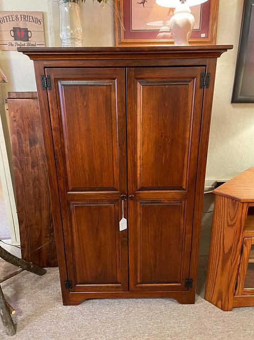 Pine Medium Bookcase with Doors (Michael's)
