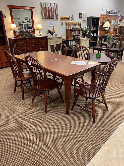 Wormy Maple Solid Top Table and Chair Set (Michael's)