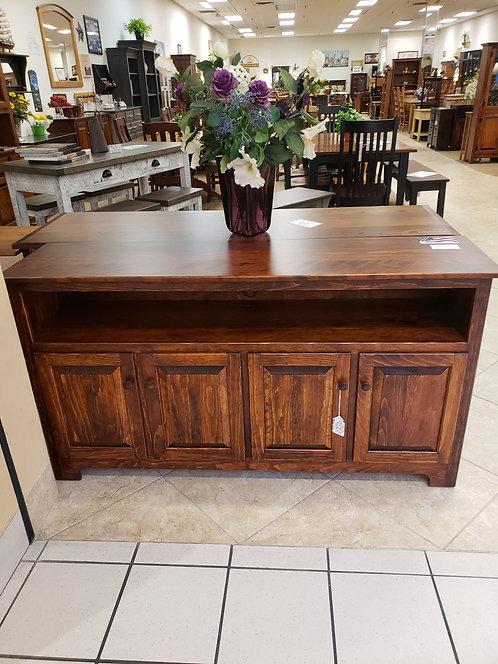 Pine 4 Door TV Stand (Michael's Cherry)