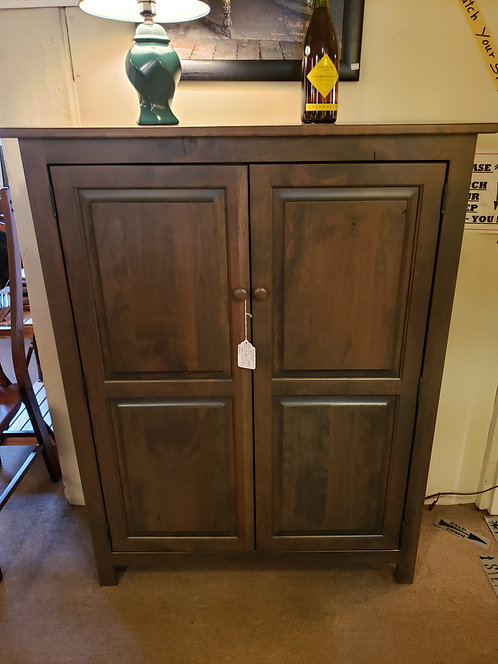 Character Cherry Shaker Two Door Cupboard (Antique Slate)