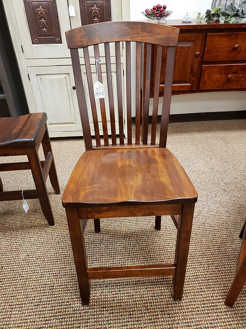 "Brown Maple ""Empire"" Barstool (Michael's)"