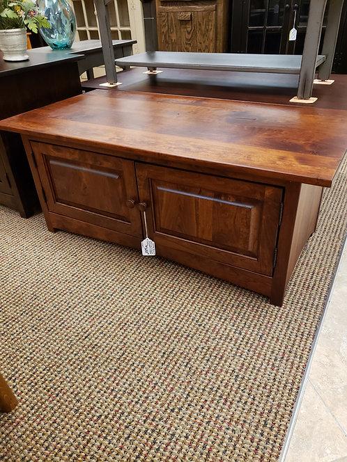 Rustic Cherry 2 Door Shaker Coffee Table (Michael's Cherry)