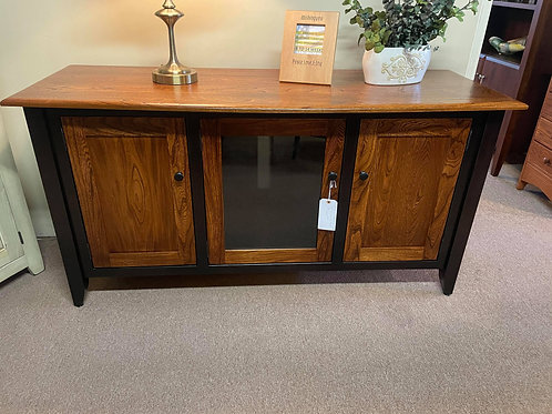"""Elm 60"""" """"Sierra"""" TV Stand (Two Tone Onyx and Michael's Cherry)"""