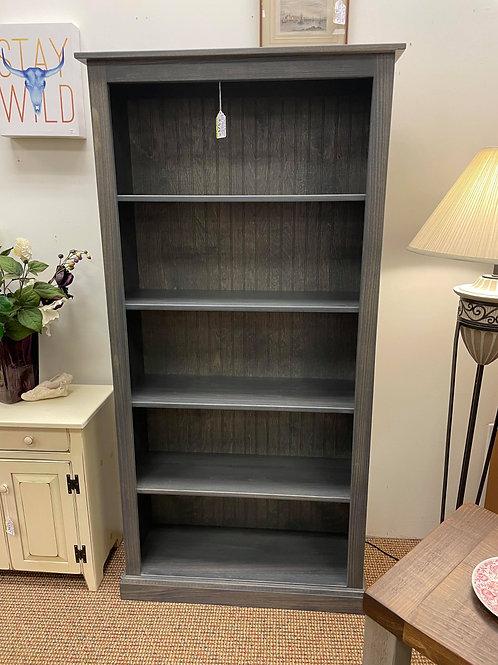 Poplar 6 Foot Bookcase (Antique Slate)